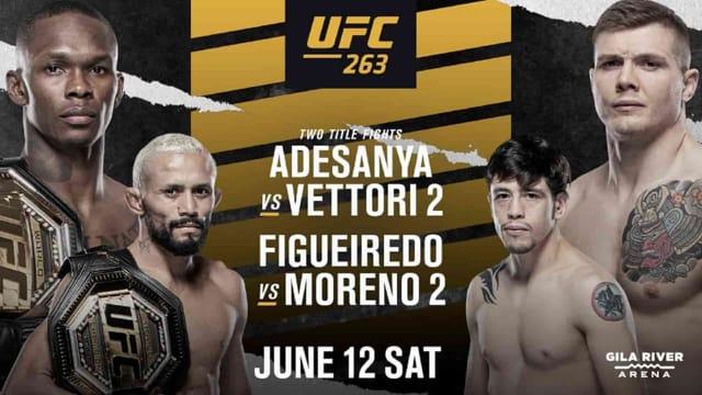 Assistir UFC 263 AO VIVO Online Grátis