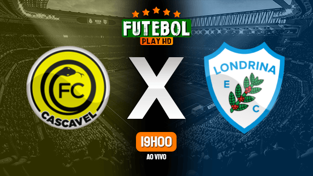 Assistir FC Cascavel x Londrina ao vivo Grátis HD 13/10/2021