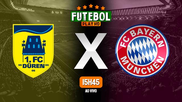 Assistir FC Duren x Bayern de Munique ao vivo 15/10/2020 HD