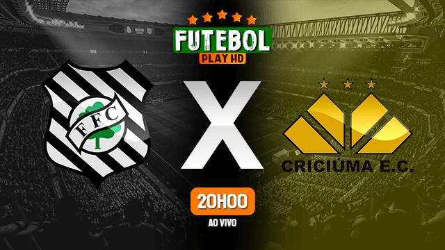 Assistir Figueirense x Criciúma ao vivo 13/10/2021 HD online