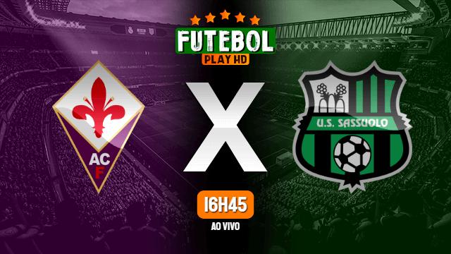 Assistir Fiorentina x Sassuolo ao vivo Grátis HD 01/07/2020