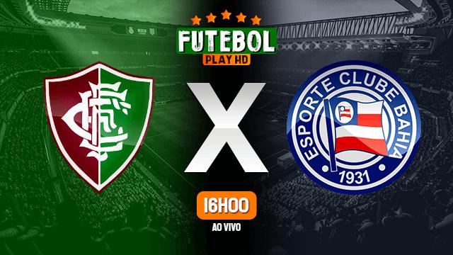 Assistir Fluminense de Feira x Bahia ao vivo online 21/03/2021 HD