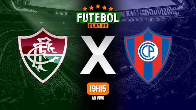 Assistir Fluminense x Cerro Porteno ao vivo 20/07/2021 HD