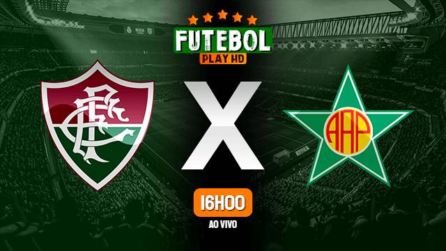 Assistir Fluminense x Portuguesa-RJ ao vivo 09/05/2021 HD online