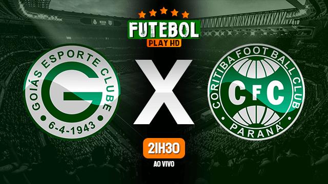 Assistir Goiás x Coritiba ao vivo Grátis HD 23/10/2021