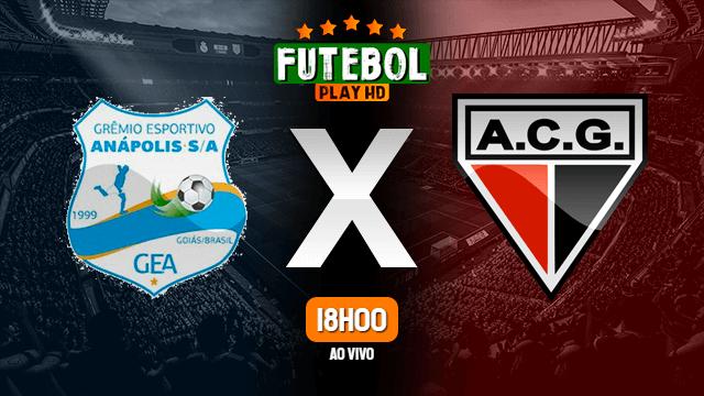 Assistir Grêmio Anápolis x Atlético-GO ao vivo 04/05/2021 HD online