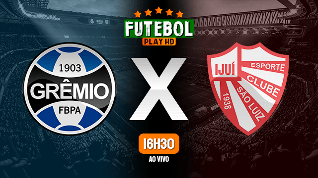 Assistir Grêmio x São Luiz ao vivo online 15/03/2020