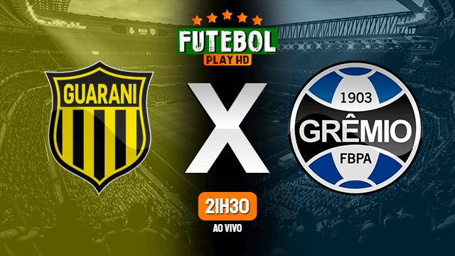 Assistir Guaraní-PAR x Grêmio ao vivo 26/11/2020 HD online