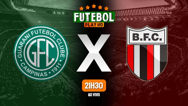 Assistir Guarani x Botafogo-SP ao vivo Grátis HD 20/11/2020