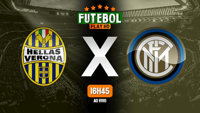Assistir Hellas Verona x Internazionale ao vivo online 09/07/2020