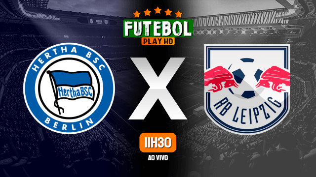 Assistir Hertha Berlim x RB Leipzig ao vivo online 21/02/2021 HD