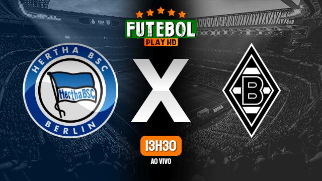Assistir Hertha Berlin x Borussia Mönchengladbach ao vivo online 23/10/2021 HD