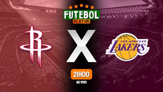 Assistir Houston Rockets x Los Angeles Lakers ao vivo 12/09/2020 HD