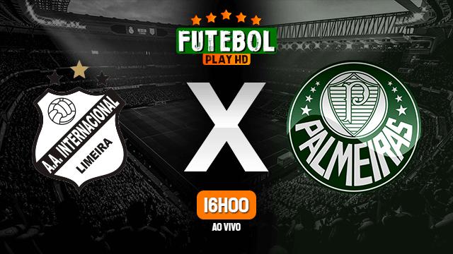 Assistir Inter de Limeira x Palmeiras ao vivo Grátis HD 14/03/2020