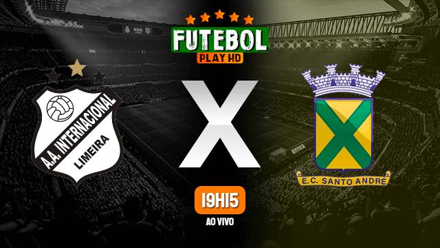 Assistir Inter de Limeira x Santo André ao vivo online HD 14/02/2020
