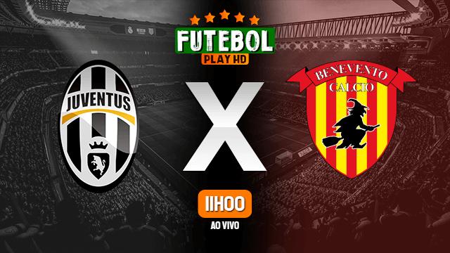 Assistir Juventus x Benevento ao vivo Grátis HD 21/03/2021