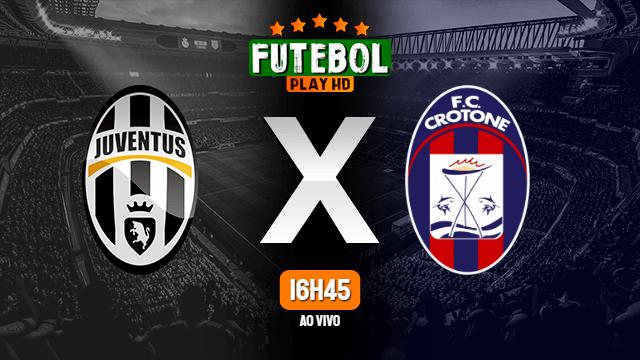 Assistir Juventus x Crotone ao vivo 22/02/2021 HD