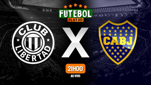 Assistir Libertad x Boca Juniors ao vivo HD 17/09/2020 Grátis