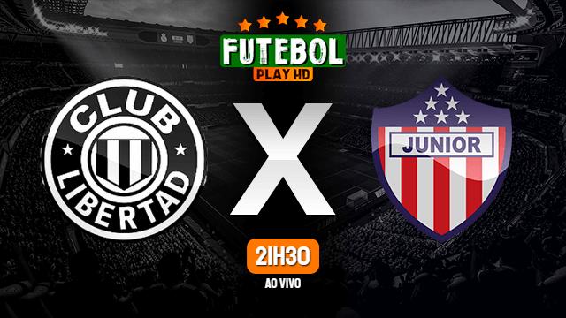 Assistir Libertad x Junior Barranquilla ao vivo 21/07/2021 HD online
