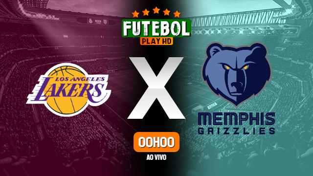 Assistir NBA: Los Angeles Lakers x Memphis Grizzlies ao vivo online 24/10/2021 HD