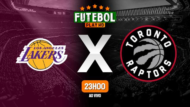 Assistir Los Angeles Lakers x Toronto Raptors ao vivo Grátis HD 02/05/2021