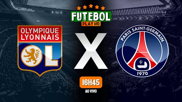 Assistir Lyon x PSG ao vivo 21/03/2021 HD online