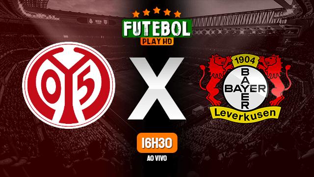 Assistir Mainz 05 x Bayer Leverkusen ao vivo 17/10/2020 HD online