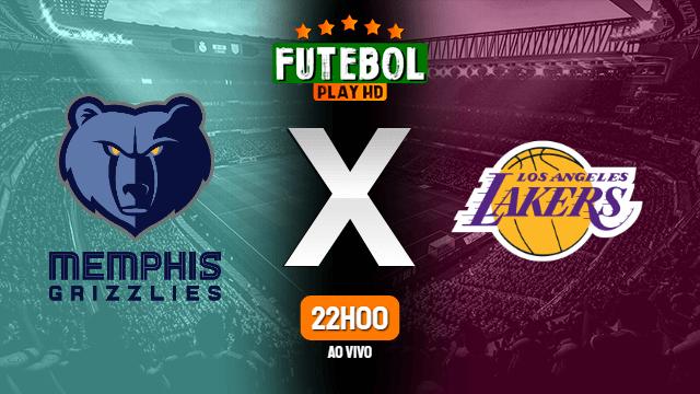 Assistir Memphis Grizzlies x Los Angeles Lakers ao vivo online 29/02/2020
