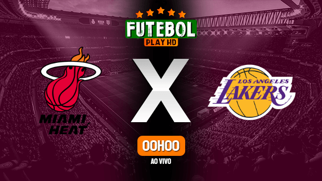Assistir Miami Heat x Los Angeles Lakers ao vivo online 20/02/2021 HD