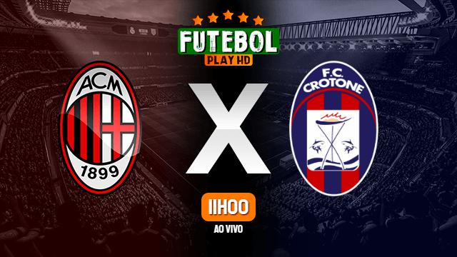 Assistir Milan x Crotone ao vivo 07/02/2021 HD