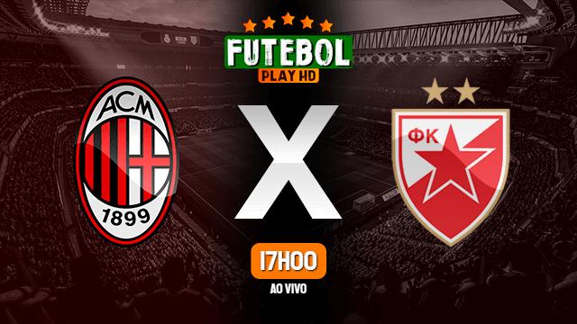 Assistir Milan x Estrela Vermelha ao vivo 25/02/2021 HD