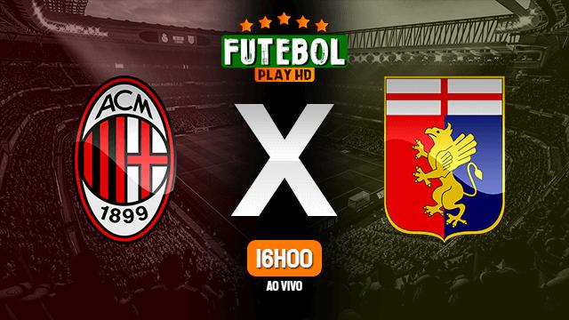 Assistir Milan x Genoa ao vivo HD 18/04/2021 Grátis