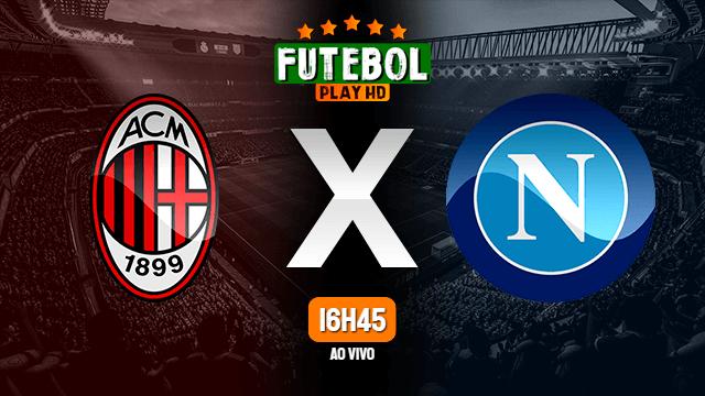 Assistir Milan x Napoli ao vivo 14/03/2021 HD