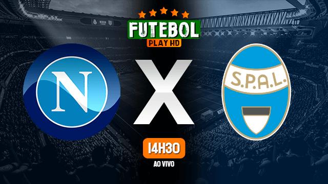Assistir Napoli x SPAL ao vivo online 28/06/2020