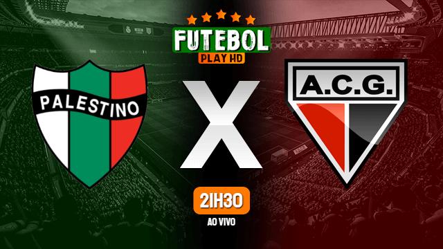 Assistir Palestino x Atlético-GO ao vivo Grátis HD 29/04/2021