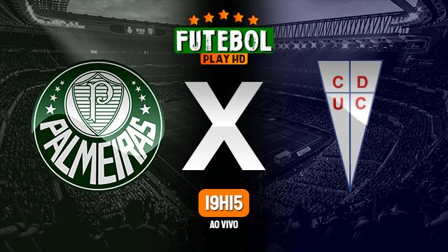 Assistir Palmeiras x Universidad Católica ao vivo 21/07/2021 HD