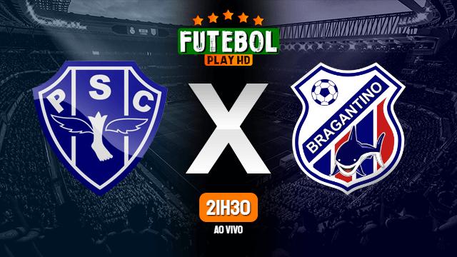 Assistir Paysandu x Bragantino-PA ao vivo online 27/01/2020