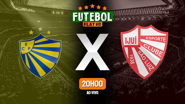Assistir Pelotas x São Luiz ao vivo online 21/03/2021 HD