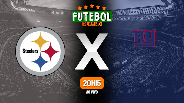 Assistir Giants x Steelers ao vivo NFL Online 14/09/2020