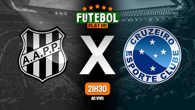 Assistir Ponte Preta x Cruzeiro ao vivo 16/06/2021 HD online