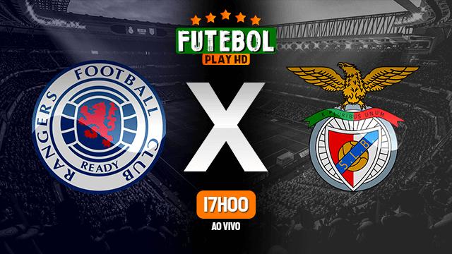 Assistir Rangers x Benfica ao vivo Grátis HD 26/11/2020