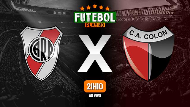 Assistir River Plate x Colón ao vivo 18/07/2021 HD online