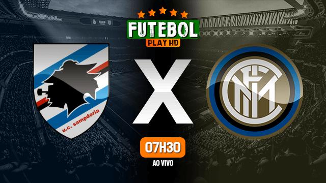 Assistir Sampdoria x Inter de Milão ao vivo online 12/09/2021 HD