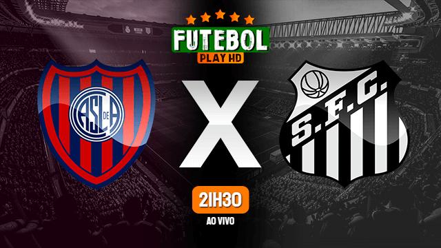 Assistir San Lorenzo x Santos ao vivo 06/04/2021 HD