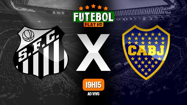 Assistir Santos x Boca Juniors ao vivo 13/01/2021 HD online