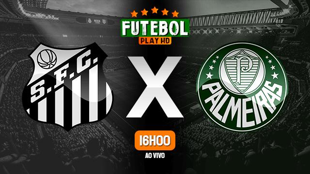 Assistir Santos x Palmeiras ao vivo HD 29/02/2020