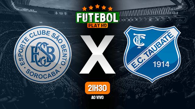Assistir São Bento x Taubaté ao vivo 15/09/2020 HD online