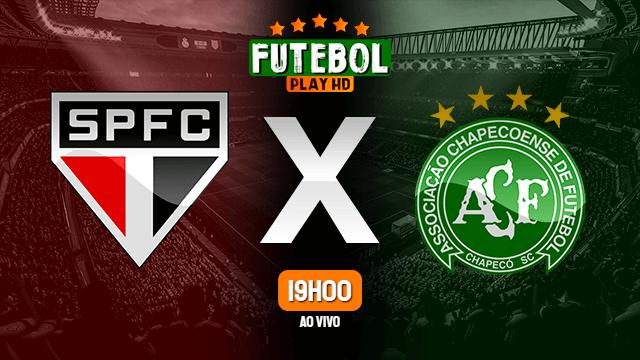 Assistir São Paulo x Chapecoense ao vivo 16/06/2021 HD online
