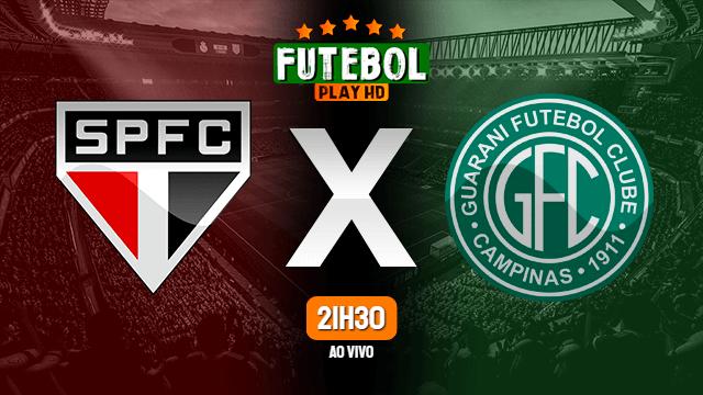 Assistir São Paulo x Guarani ao vivo Grátis HD 14/04/2021