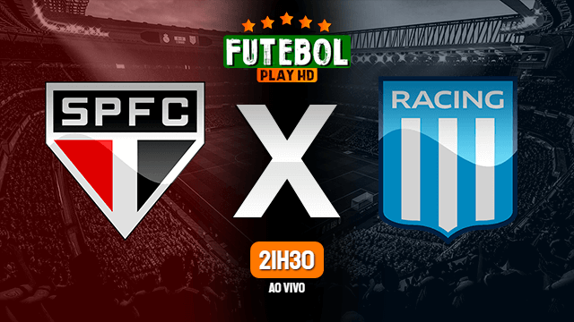 Assistir São Paulo x Racing ao vivo online 13/07/2021 HD